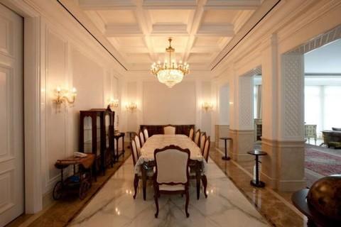 Desain Klasik Menciptakan Ruang Makan Mewah Yang Cantik Kumparan Com