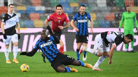 Udinese vs Inter Milan: Conte Kena Kartu Merah, Nerazzurri Gagal Menang (2)