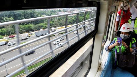 Kemenhub Beberkan Kendala Integrasi Transportasi di LRT Jabodebek