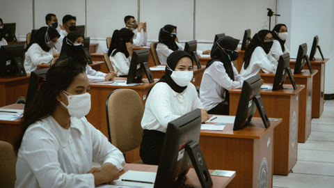 2 Peserta Tes CPNS Kalbar Positif Corona, Masih Mengikuti Ujian di Ruang Terpisah