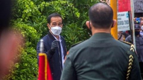 Jokowi Saksikan Penyerahan Santunan bagi Ahli Waris Korban Sriwijaya Air