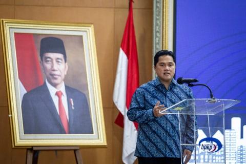 BUMN Tempat Jokowi Dulu Bekerja Mau Ditutup Erick Thohir