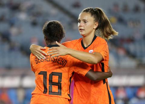 Rekor! Tim Sepak Bola Putri Belanda Bikin 10 Gol di Laga Perdana Olimpiade 2020