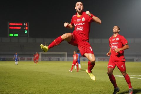 Live Streaming Persija vs Persela di Liga 1