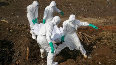 Wabah Ebola Kembali Mewabah di Guinea, Terburuk Sejak 2016 (1)