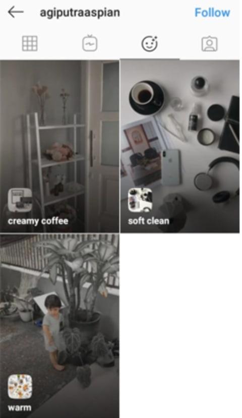 Filter Instagram Story Buatan Anak Samarinda Yang Aesthetic Kumparan Com
