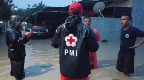 Banjir Rendam Pemukiman di 4 Kecamatan Wilayah Kabupaten Tegal (1)