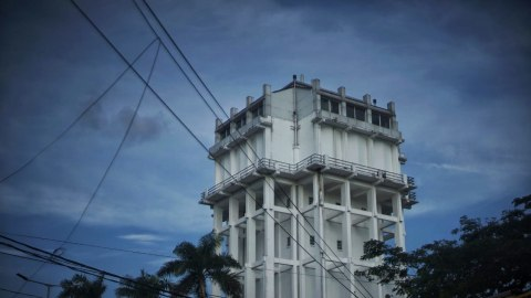 Potret Bangunan Tua Bersejarah di Palembang