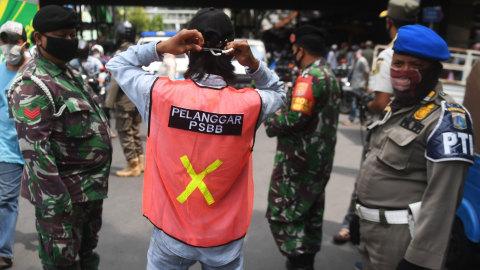 Wagub DKI: Denda Progresif Pelanggaran PSBB Perlu, Akan Dibahas Lagi dengan DPRD