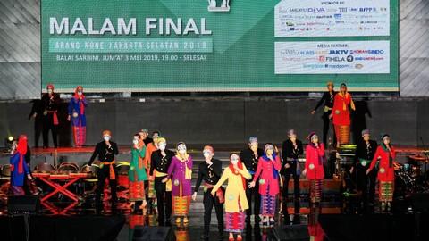 Foto Malam Final Abang None Jakarta Selatan Kumparan Com