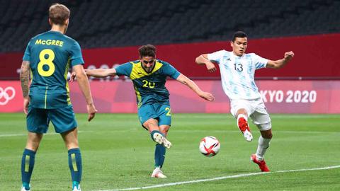 3 Biang Kerok Argentina saat Dipermalukan Australia di Olimpiade 2020