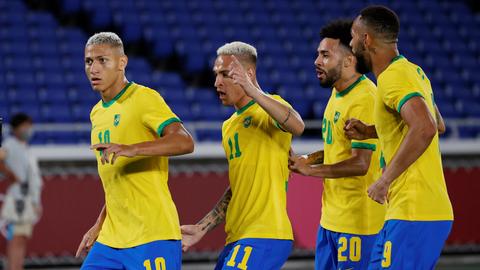 5 Bintang Brasil saat Tundukkan Jerman di Olimpiade 2020