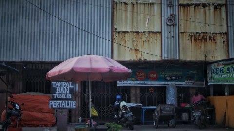 Potret Bangunan Tua Bersejarah di Palembang (6)