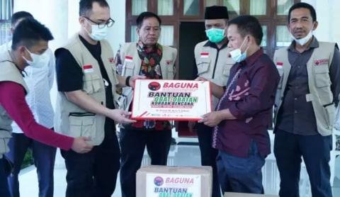 Baguna PDIP Salurkan Bantuan untuk Penyintas Gempa di Majene