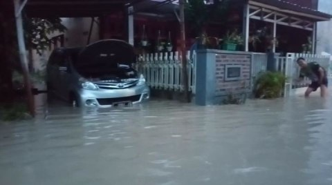 Banjir Rendam Pemukiman di 4 Kecamatan Wilayah Kabupaten Tegal