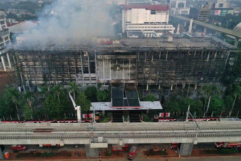 Cari Tersangka Kebakaran Kejagung, 12 dari 131 Saksi Diperiksa Lagi Senin (2)