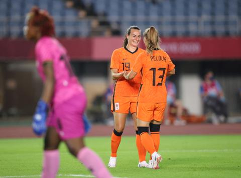 Rekor! Tim Sepak Bola Putri Belanda Bikin 10 Gol di Laga Perdana Olimpiade 2020 (2)