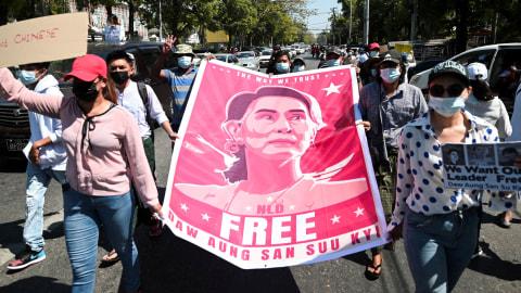 Pemimpin Kudeta Myanmar Mulai Tak Sabar, Ancam Tindak Warga Jika Tetap Demo (2)