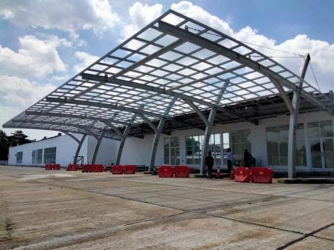 Renovasi Terminal Harjamukti Cirebon Capai 70 Persen, Dilengkapi Sarana Hiburan