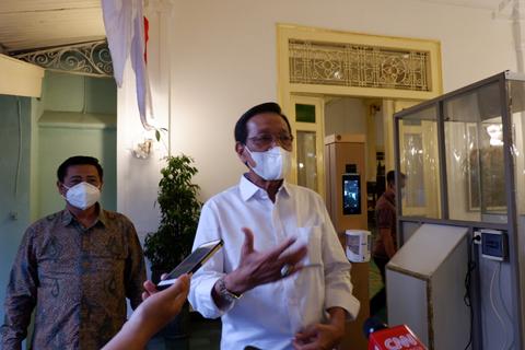 Sri Sultan: Tidak ada sanksi pidana untuk PPKM level 4 di DIY, hanya teguran (1)