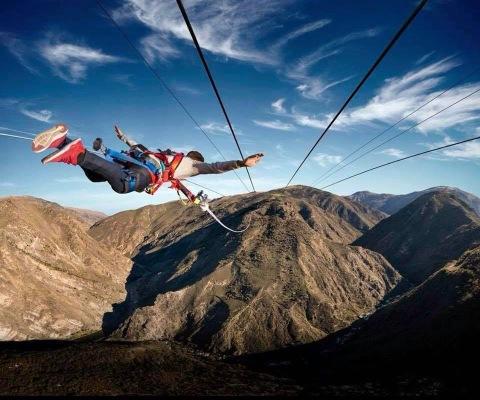 Wahana Baru Ketapel Manusia Di Selandia Baru Yang Pacu Adrenalin Kumparan Com