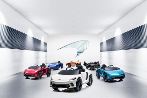 McLaren Hadirkan Mobil Listrik, Tetapi Khusus untuk Anak-Anak