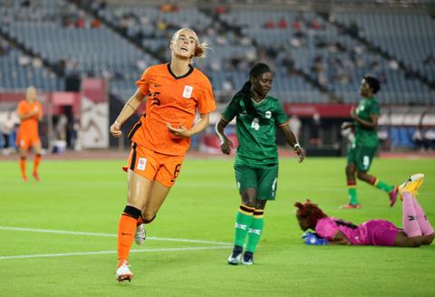 Rekor! Tim Sepak Bola Putri Belanda Bikin 10 Gol di Laga Perdana Olimpiade 2020 (1)