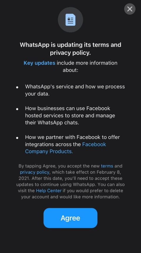 WhatsApp Iklan Besar-besaran di Koran, Minta Pengguna Jangan Pergi (1)