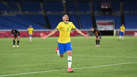 5 Bintang Brasil saat Tundukkan Jerman di Olimpiade 2020 (5)