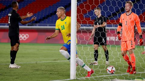 5 Bintang Brasil saat Tundukkan Jerman di Olimpiade 2020 (1)