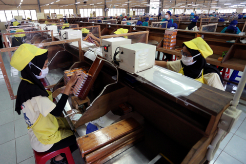 Buruh Tolak Rencana Kenaikan Tarif Cukai Rokok di 2022