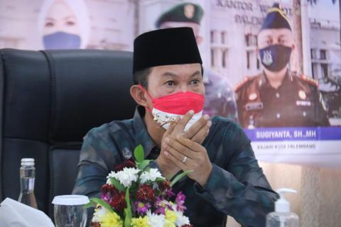 Pemkot Palembang Menunggu Penurunan Level PPKM