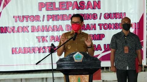Bahasa Daerah Masuk Kurikulum Pendidikan di Kabupaten Minut