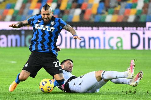 Udinese vs Inter Milan: Conte Kena Kartu Merah, Nerazzurri Gagal Menang