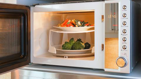 Tips Memanaskan Makanan Sisa dengan Microwave agar Tetap Nikmat ...