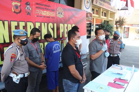 Tangkal Hoaks, Polres Cirebon Kota Lakukan Patroli Siber