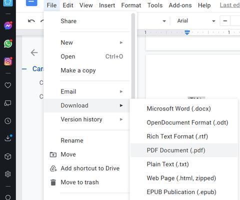 Cara Membuat File PDF Lewat Word, WPS, dan Google Docs (3)