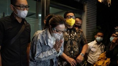 Jadi Tersangka Kasus Video Syur, Gisel Akui Khawatir Akan Ditahan