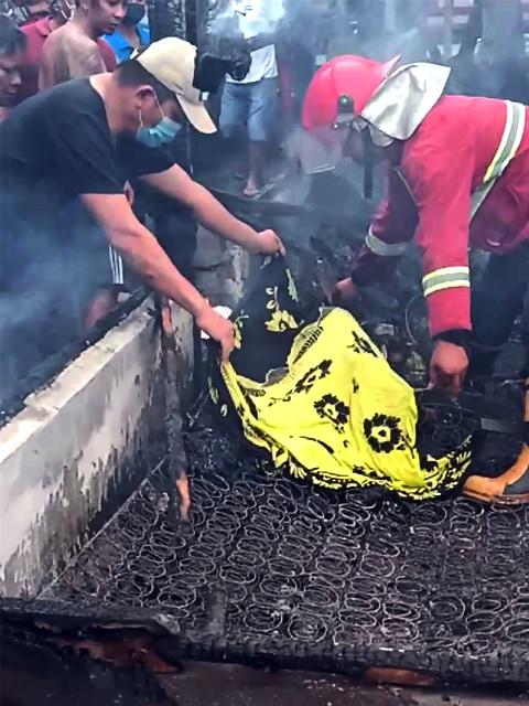 Kebakaran di Minut, Bocah Perempuan Meninggal Terjebak di Dalam Kamar