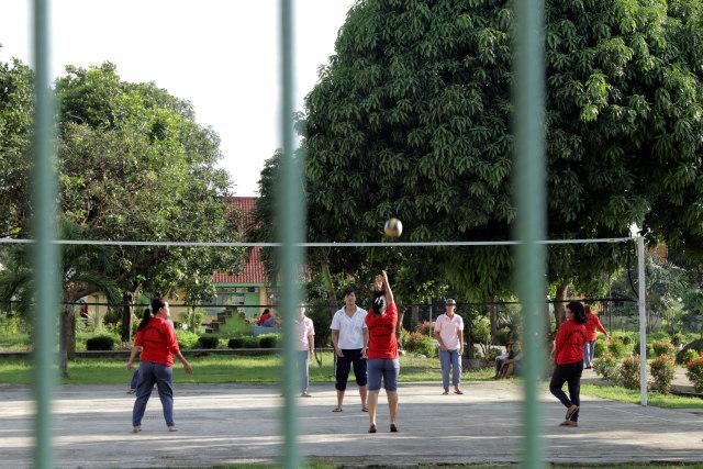 Kegiatan Olahraga di Lapas  Tangerang