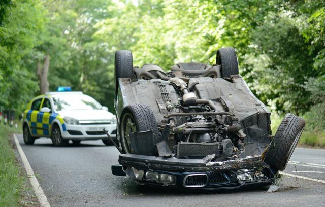 Ilustrasi Kecelakaan Lalu-lintas