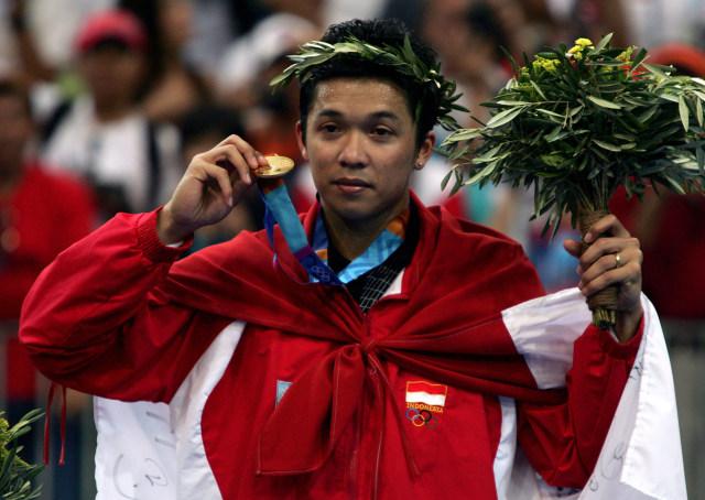 Mengenang 5 Momen Terbaik Taufik Hidayat saat Raih Emas Olimpiade 2004 (2989)