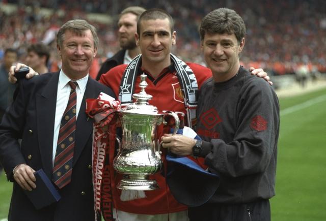 Sir Alex Ferguson, Eric Cantona, dan Brian Kidd