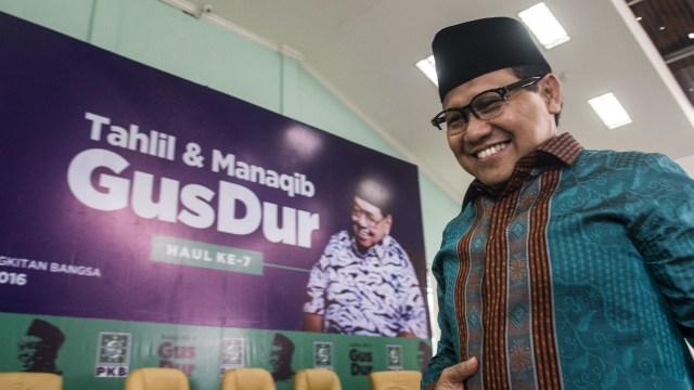Cak Imin soal Airlangga Ingin Dampingi Jokowi: Saya Duluan Deklarasi (1307073)