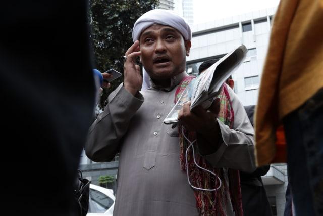 Habib Novel di Polda Metro Jaya