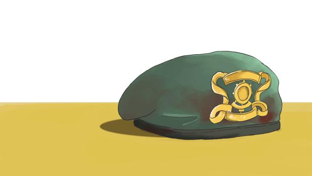 Ilustrasi Tentara Tewas