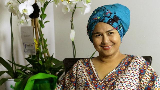 Ria Irawan Berjuang Melawan Kanker