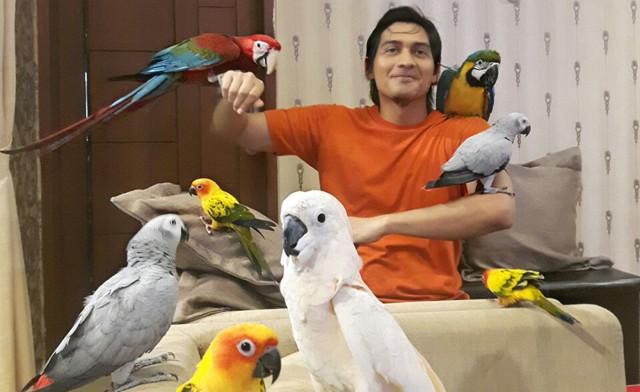 Lucky Hakim Pelihara 300 Hewan di Rumahnya (7370)