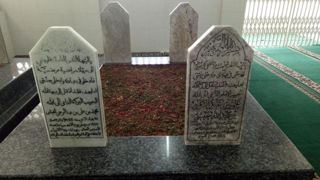 Makam Habib Ali Kwitang di Masjid Ar-Riyyadh