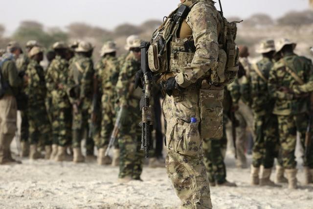 Ilustrasi Tentara AS